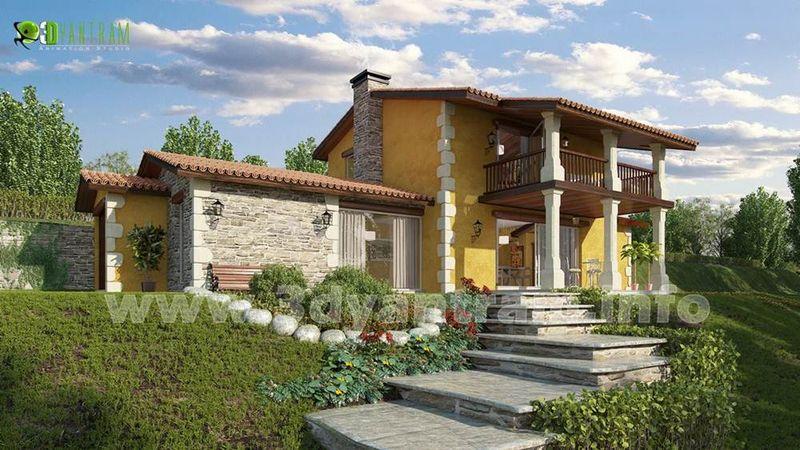 3d exterior rendering design france